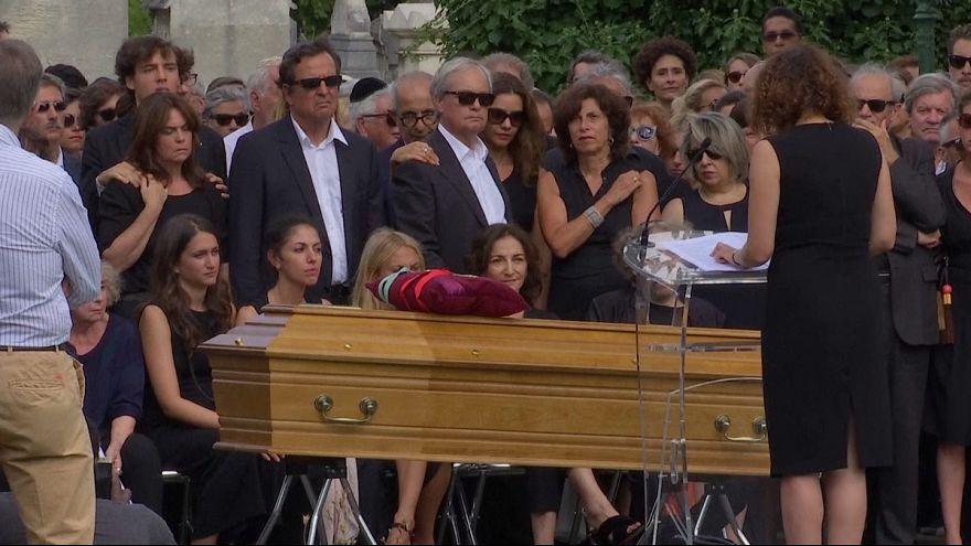 Funeral for French fashion legend Sonia Rykiel