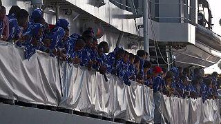 Unos 13.000 inmigrantes y refugiados han llegado a las costas italianas desde el domingo