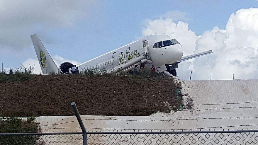 Image: Fly Jamaica crash landing