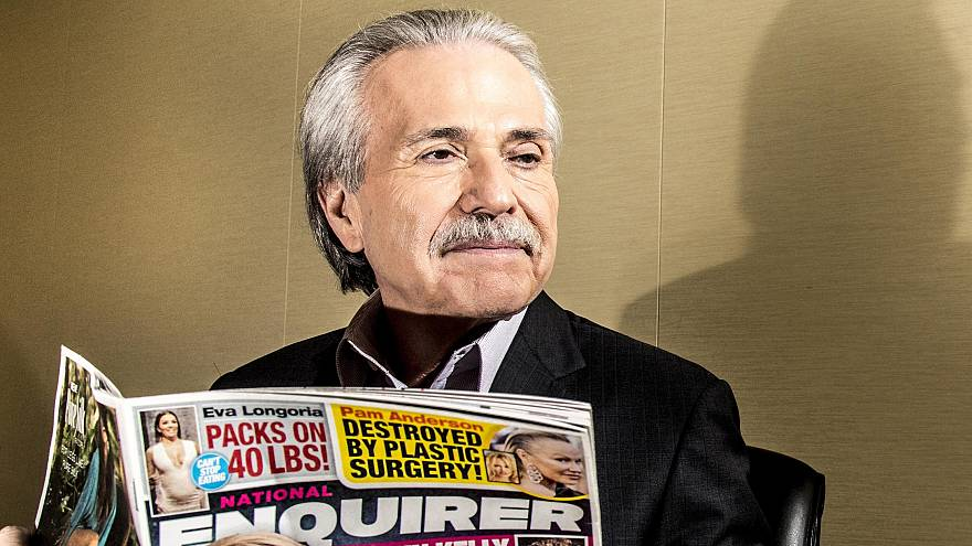Image: David Pecker, Chairman and CEO of American Media, in New York, June
