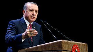 Erdogan asegura que no permitirá que se cree un corredor del terror en la frontera con Siria