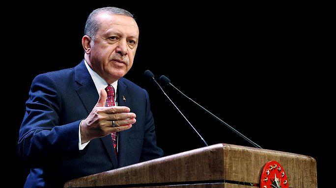 """Cumhurbaşkanı Erdoğan: """"YPG, Fırat'ın doğusuna geçmedi"""""""
