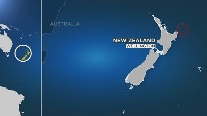 Новая Зеландия: цунами высотой в 30 см