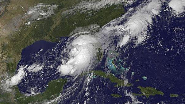 Hemrine Kasırgası Florida'da etkisini göstermeye başladı
