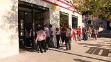 Spanish jobless total rises as tourism season ends