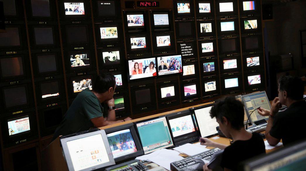 Греция: телевидение ушло с молотка