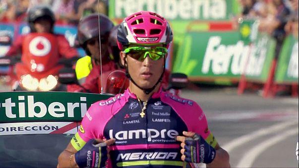 """Vuelta2016, 13a etapa: Valerio Conti vence antes da """"batalha"""" dos Pirenéus"""