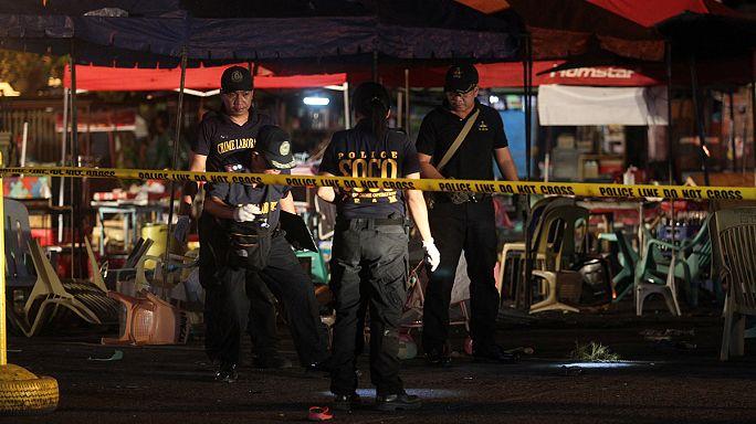 Филиппины. Мощный взрыв прогремел в городе Давао