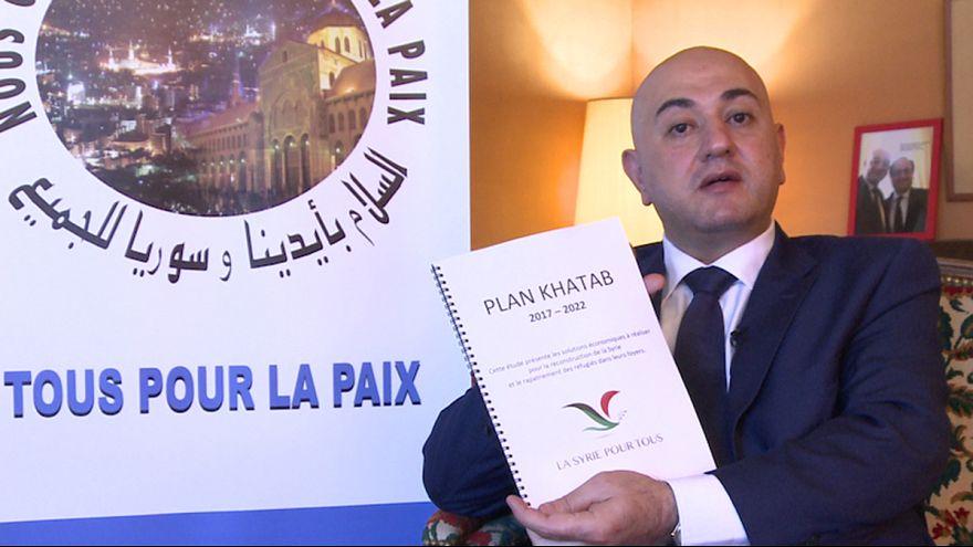 رئيس حزب « سوريا للجميع » د.محمد عزت خطاب يتحدث عن استراتيجيته لحل الأزمة في سوريا