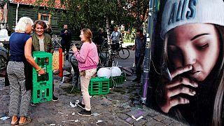 Christiania comienza a desmantelar su famoso mercado de drogas