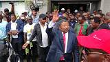 Gabon's opposition leader declares himself president after disputed election