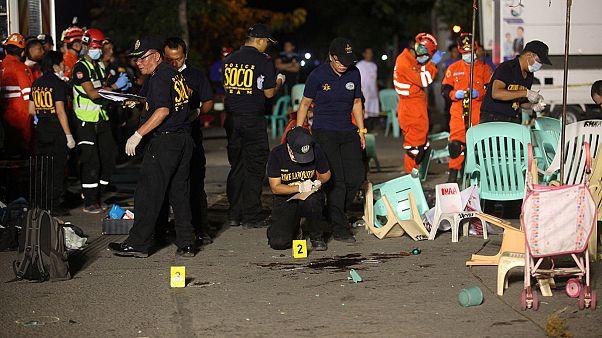 افزایش شمار کشته شدگان انفجار فیلیپین