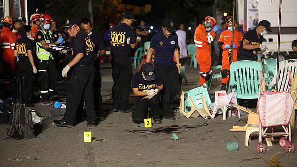 Filipinler'de bombalı saldırı: En az 14 ölü