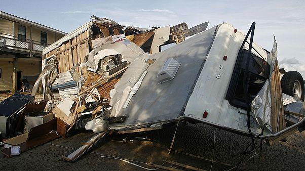 Súlyos pusztítást végzett a Hermina hurrikán Floridában