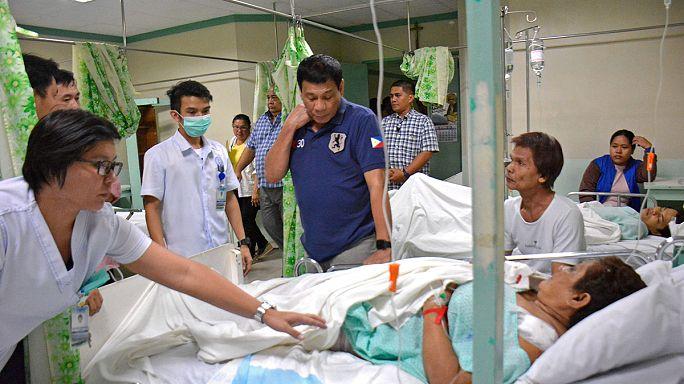 A katonai törvénykezéshez hasonló állapotot vezetett be az államfő a Fülöp-szigeteken