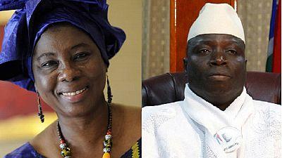 """Présidentielle en Gambie : la première femme candidate appelle Yahya Jammeh à """"partir"""""""