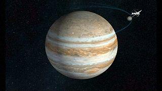 """""""Juno"""" schickt spektakuläre Bilder vom Jupiter"""