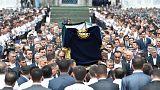 A szamarkandi nagymecsetben temették el Iszlam Karimov üzbég elnököt