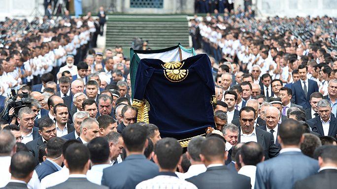 Ислам Каримов предан земле в Самарканде
