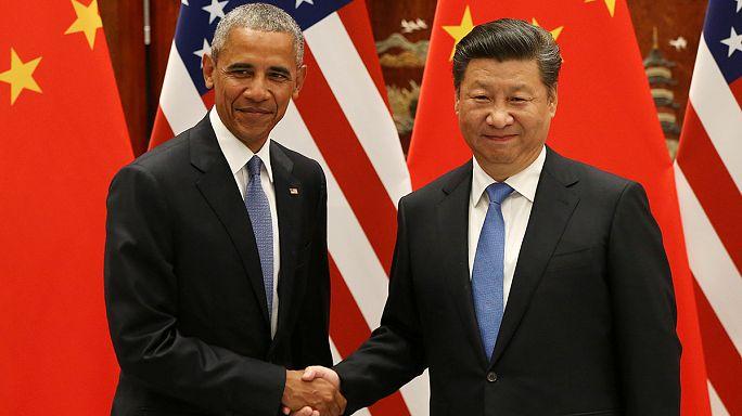 "Пан Ги Мун настроен ""оптимистично"" после ратификации Парижского соглашения КНР и США"