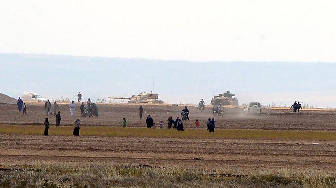 تركيا تفتح جبهة جديدة على الأراضي السورية لمحاربة داعش