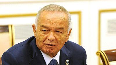 Uzbekistan's president laid to rest in Samarkand