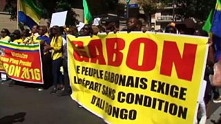 Protesters storm Gabon embassy in Paris demanding Bongo to step down