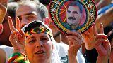 Les Kurdes d'Allemagne manifestent en nombre à Cologne