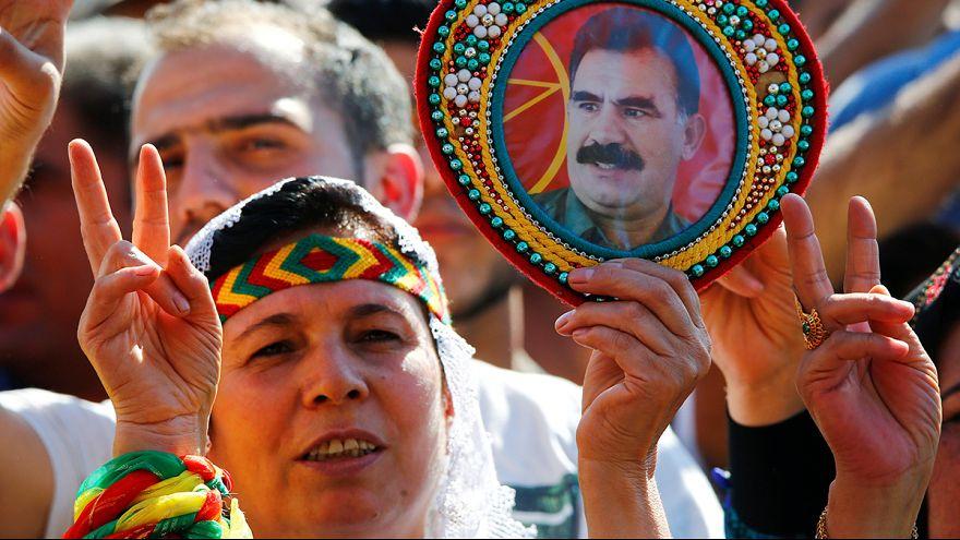 آلاف الأكراد يتظاهرون ضدّ أردوغان في ألمانيا