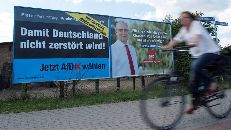 German right-wing party set to do well in regional vote