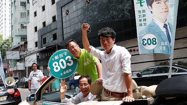 Erste Parlamentswahl in Hongkong seit Demokratie-Protesten
