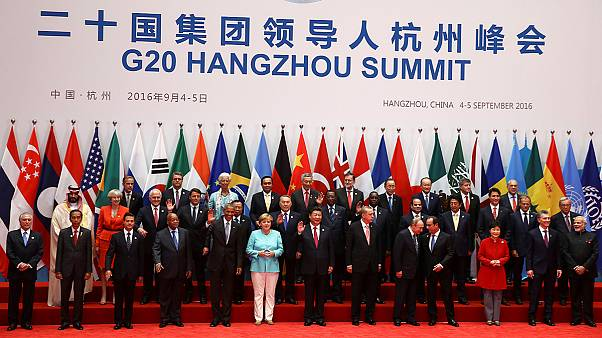 Comienza la cumbre del G20 en la antigua capital imperial china de Hangzhou