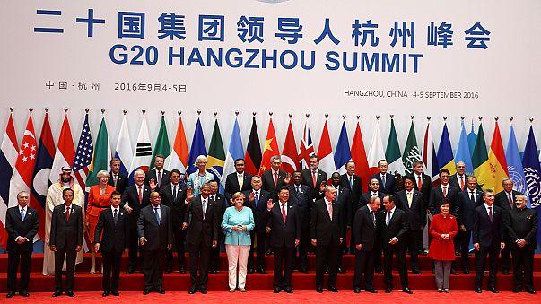 Ouverture du G20 en Chine