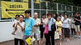 Hong Kong holds first major vote since pro-democracy protests