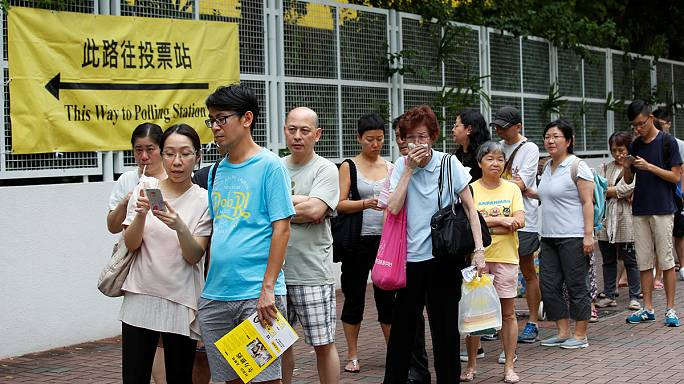 В Гонконге выбирают парламент