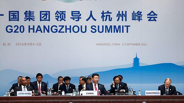 Aperto il G20 ad Hangzhou in Cina