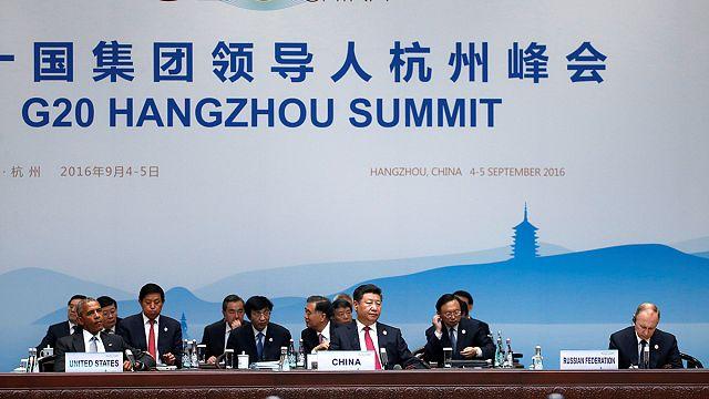 قادة مجموعة العشرين يجتمعون الأحد والاثنين في مدينة هَانْغْ تْشُو الصينية.