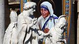 الأم تيريزا تُعلَن قديسةً من طرف البابا...قديسة كالْكوتا