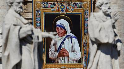 Mother Teresa proclaimed a saint