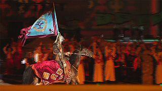 انطلاق الألعاب العالمية الثانية لسباقات البدو الرحل في قيرغيزستان