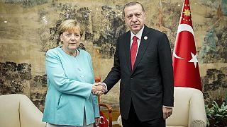 Эрдоган и Меркель обсудили ситуацию в Сирии