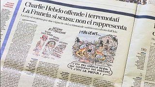 İtalyanlardan Charlie Hebdo'ya deprem karikatürü tepkisi