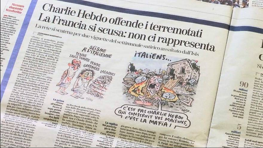 Charlie Hebdo cartoon sparks fury in Italy