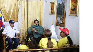 Venezuela : polémique autour d'une vidéo du président Maduro