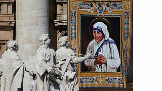Hommage à mère Teresa de Calcutta