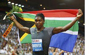 Domination des champions olympiques David Rudisha et Caster Semenya au meeting de Berlin