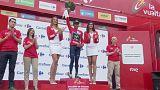 Vuelta : Quintana creuse son écart sur Froome