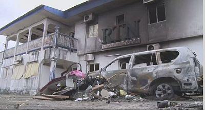 Gabon : des médias attaqués dans la capitale