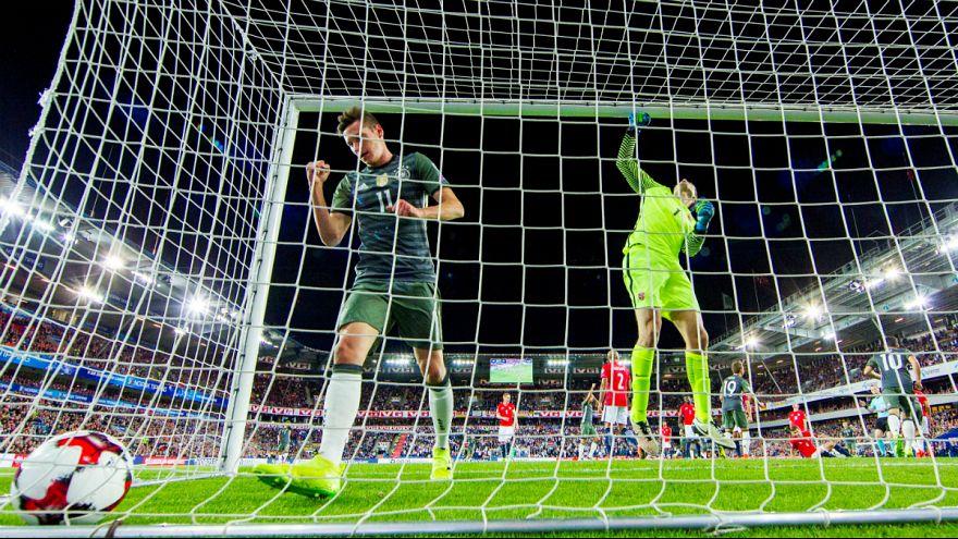 Qualificação Mundial2018: Alemanha e Inglaterra entram de pé direito
