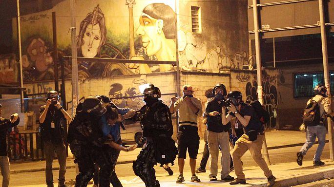 Tömegtüntetések Temer ellen